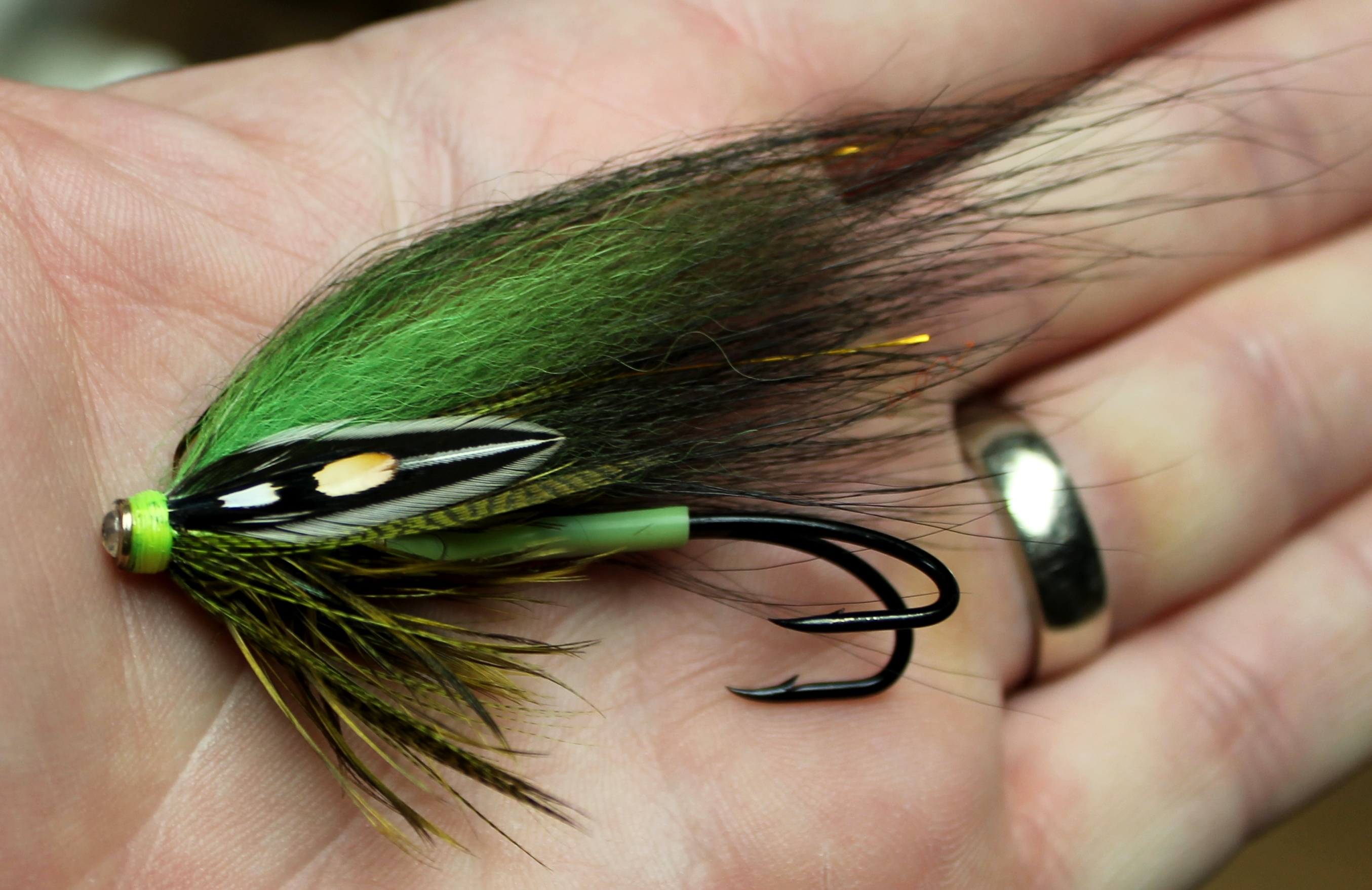 jungle cock feather fly tying