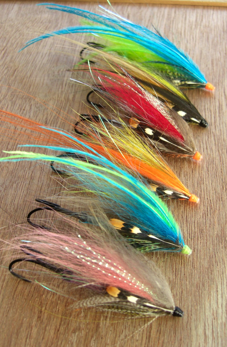 Tube flies for salmon and steelhead for Tube fishing lure